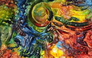 abstract art by teyjah