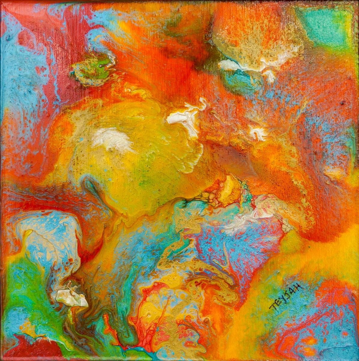Posy Oil Painting by teyjah